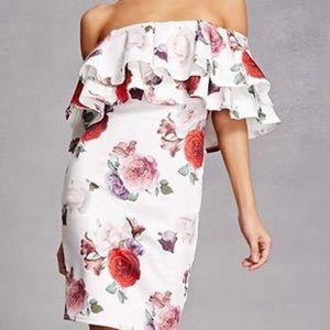 Dresses & Skirts - Floral Flounce Dress